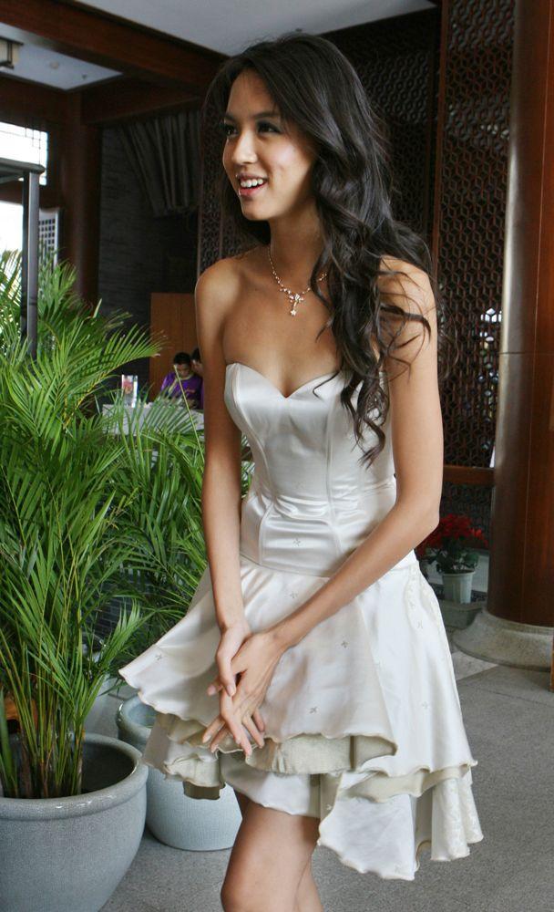 lang haar buitenlandse bruiden tieten