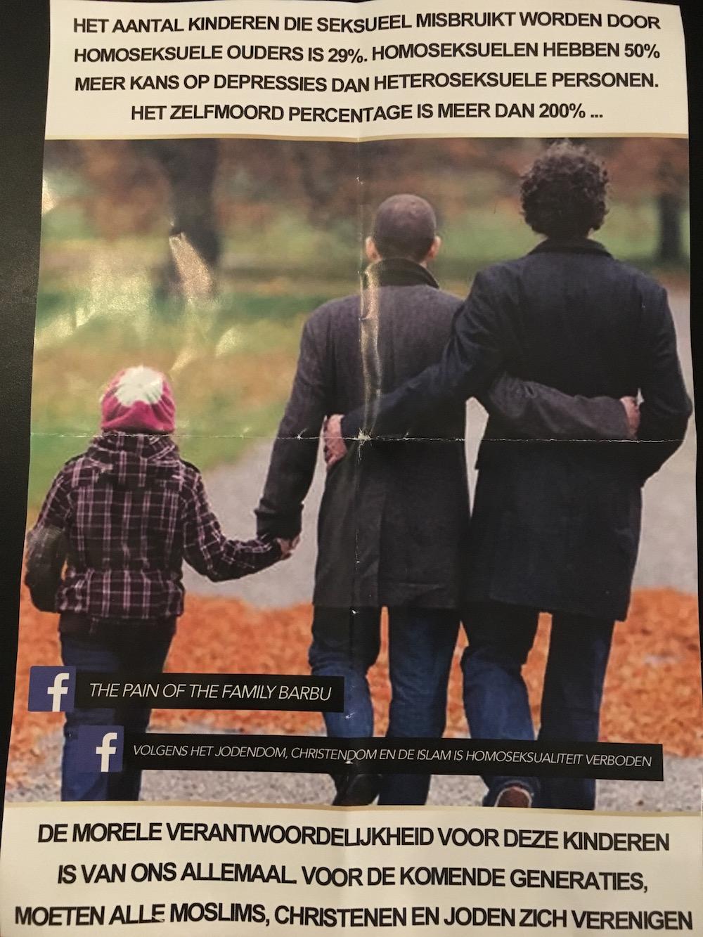 GeenStijl: INGEZONDEN: Homohaat-pamfletten in 020-West
