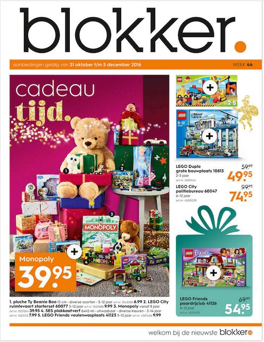 GeenStijl  Wat valt u op aan de Blokker Sinterklaas folder?