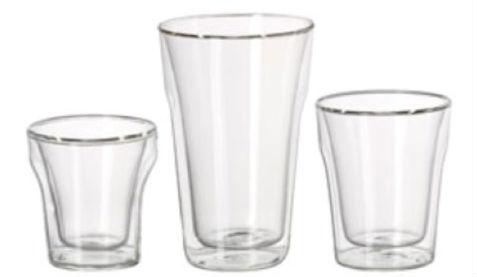 Dubbelwandige glazen ikea