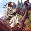 Jezus, tijdens het ontstaan van onze wereld, zo'n 6200 jaar geleden