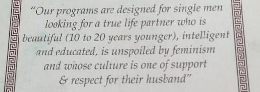 Feminisme verpest dating