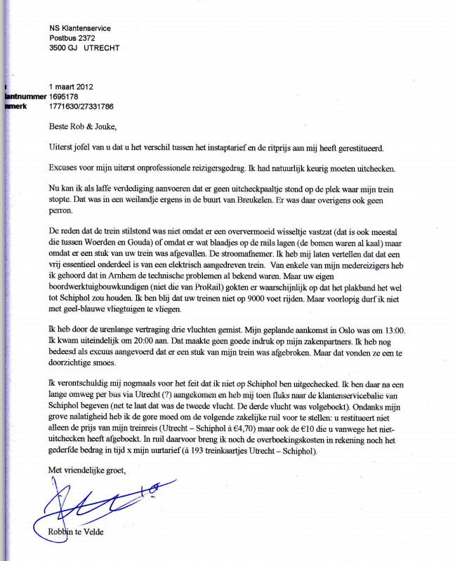 een klachtenbrief schrijven Een Klachtenbrief Schrijven | gantinova