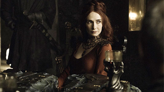 red sorceress game of thrones