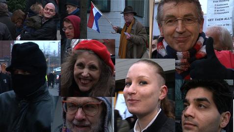 Source: Geenstijl.nl alternate text: Wildersfans