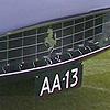 Beroemd nummerbord: AA-13