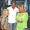 Links de moeder van Lange Frans, midden zijn vader, rechts zijn jongste zusje