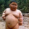 Typische dikke Chinees
