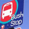 een bush stop