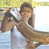 mms'je van de buuv: Kijk hox, een grote vis!
