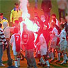 nieuwste trend: lichtgevende Feyenoorders