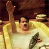 zusammen ins bad, jawohl so nett ist daß