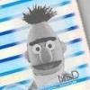 De dader heet Evil Bert en woont in de Sesamstraat
